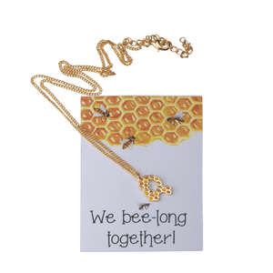 Bee-long Necklace - Ssoul Eternal You