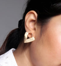 Load image into Gallery viewer, Textured Arrowhead & Stud Earrings - Ssoul Eternal You