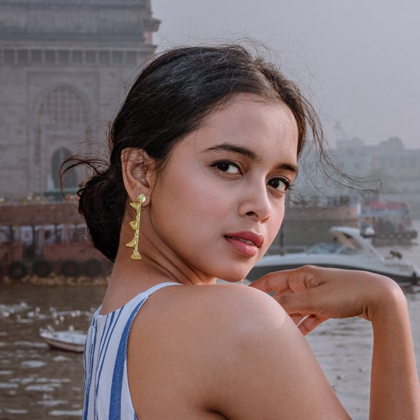Gateway of India Earrings - Ssoul Eternal You
