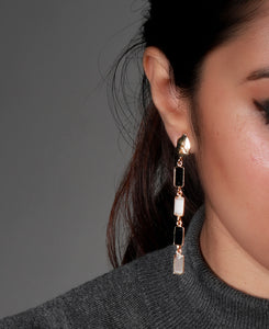 Baguette Earring - Ssoul Eternal You