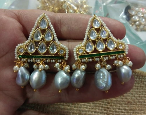 Kundan Earring - Ssoul Eternal You