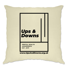 Load image into Gallery viewer, Ups & Downs Cushion Cover