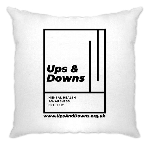 Ups & Downs Cushion Cover