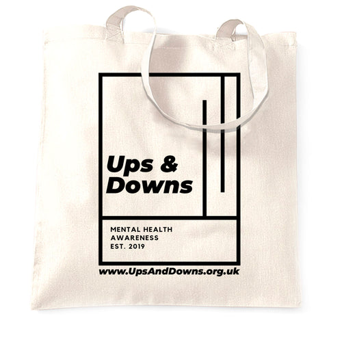 Ups & Downs Tote Bag