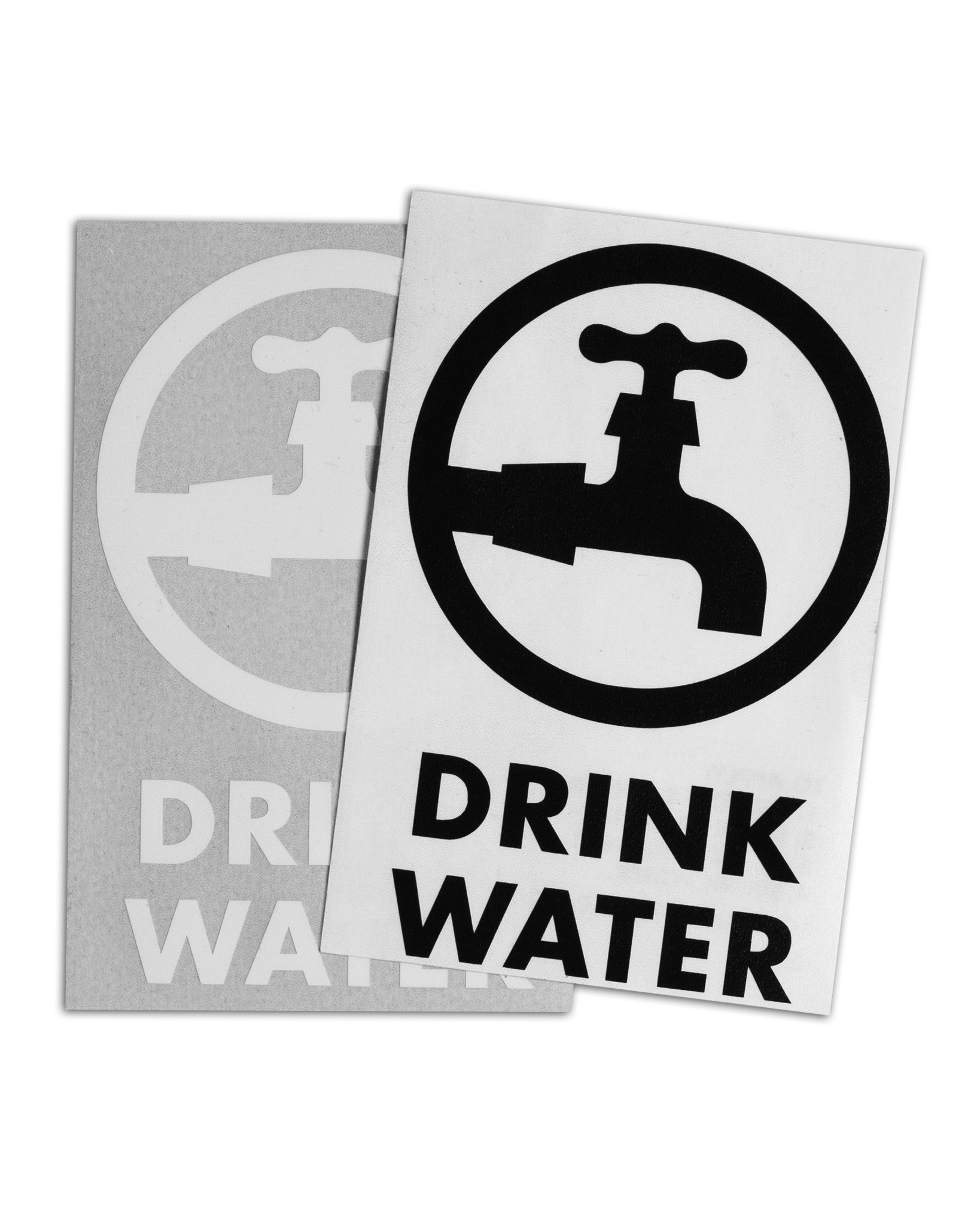 Die cut sticker pack drinkwater