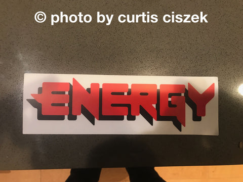 ENERGY Hoody + Film Stick + Sticker Pack