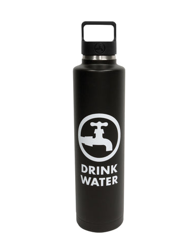 24 oz Insulated Bottle - Black