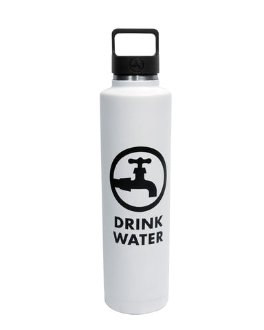 24 oz Insulated Bottle - White