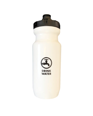 Bike Water Bottle - White
