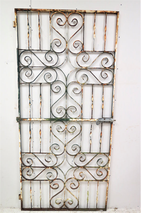 antique garden gate