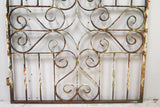 Very Heavy Antique Wrought Iron English Garden Gate