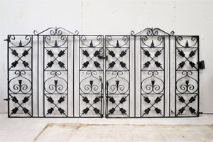 antique entry gate