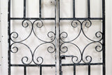 Antique English Wrought Iron Garden Gates or Entry Gate