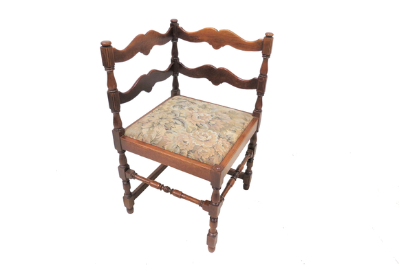 antique corner chair