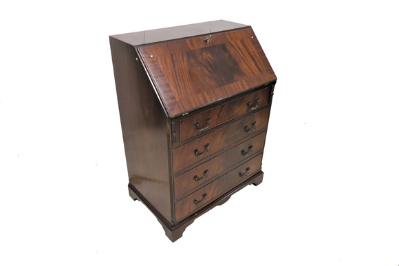 feather mahogany secretary