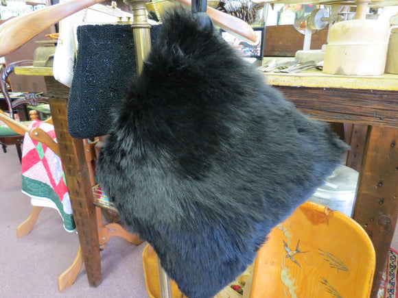 Rabbit Fur Muff Hand Warmer