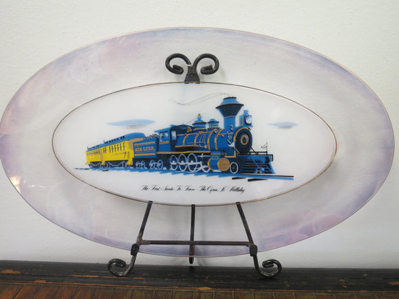 Santa Fe Railroad The Cyrus K. Holliday Collectors Train Plate