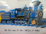 Santa Fe Railroad The Cyrus K. Holliday Collectors Train Platter