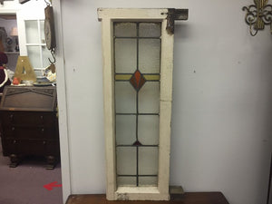 Antique English Leaded Stained Glass