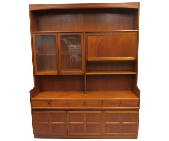 Mid Century Nathan Furniture Teak Wood Credenza