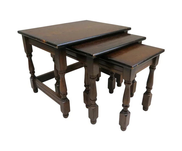 Vintage English Nesting Tables
