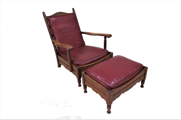 stickley furniture chair ottoman