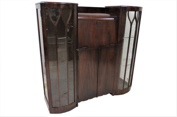 art deco secretary