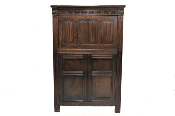 antique cocktail cabinet