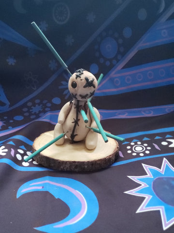 Voodoo Doll Incense Burner