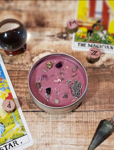 Psychic Witch Candle | Divination Witch Candle | Metaphysical Candle | Witchy Candle