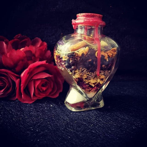 Intention Jars, Love Jar, Health Jar, Protection Jar, Abundance Jar, Self Love Jar, Spell jar, Witch jar