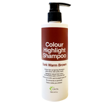 CINTA Colour Highlight Shampoo (250ml) - Dark Warm Brown