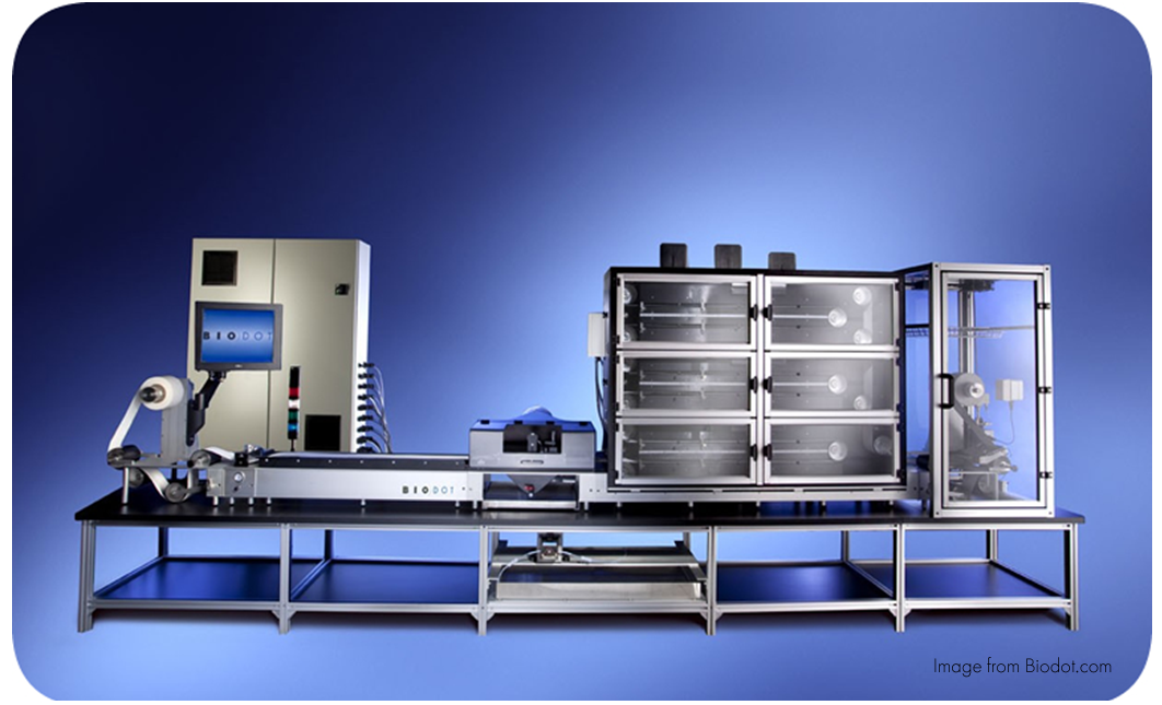 Biodot Lateral Flow Automated Manufacturing