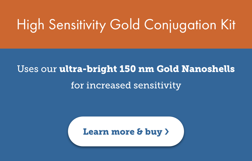 High Sensitivity Gold Conjugation Kit
