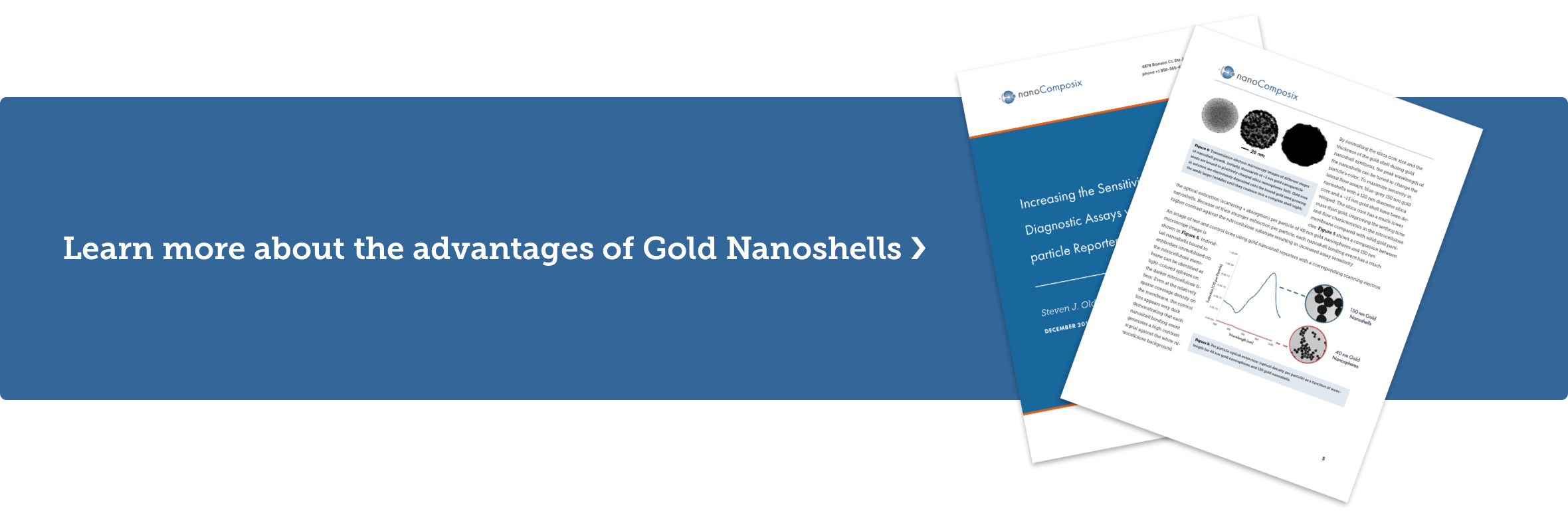Learn more about the advantages of Gold Nanoshells