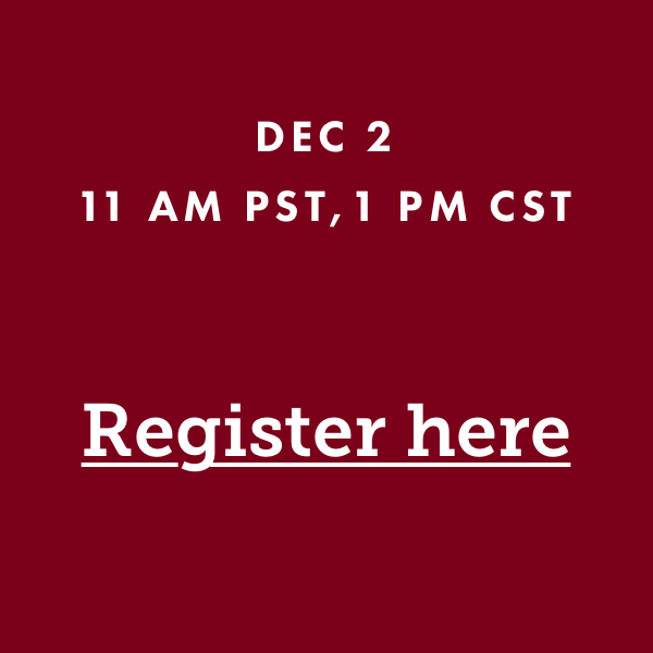 Click on this to register for the webinar
