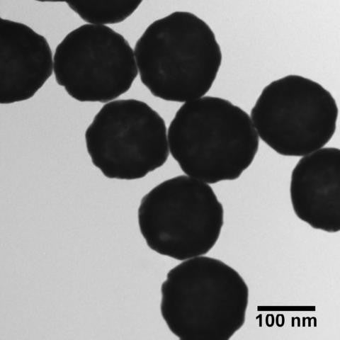 150 nm Gold Nanoshells with Streptavidin