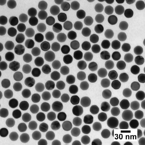 30 nm Ultra Uniform Gold Nanospheres