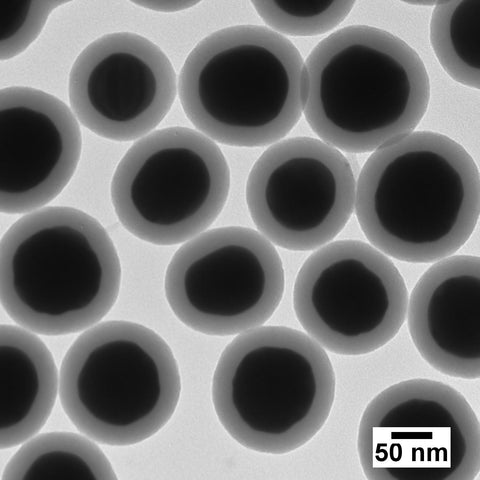 Silica Shelled 100 nm Gold Nanospheres