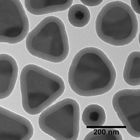 Silica Shelled Silver Nanoplates, Peak Absorbance @ 1050 nm