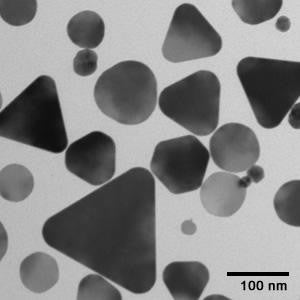 Silver Nanoplates, Peak Absorbance @ 750 nm