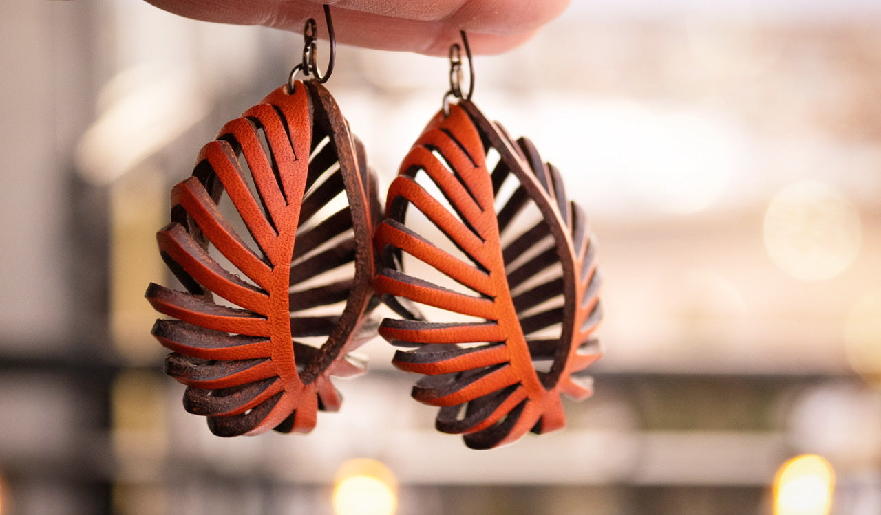 The Sydney - Basket Earrings