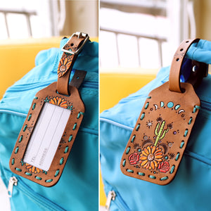 Custom Beach Luggage Tag for Cristin