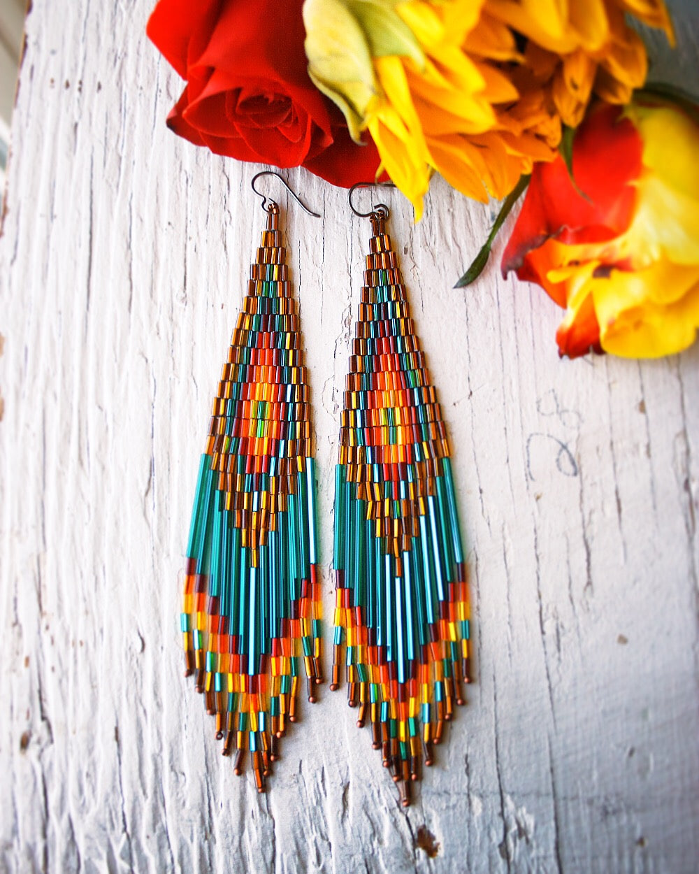 Grand Mesa Beaded Earrings