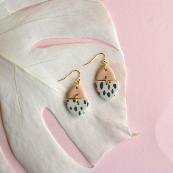 ZOË EARRINGS // RAINDROPS