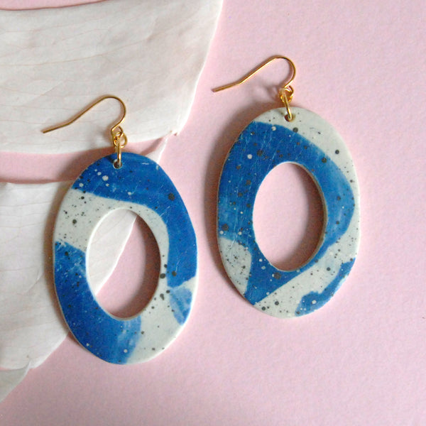 TRIXIE EARRINGS // BRUSHED