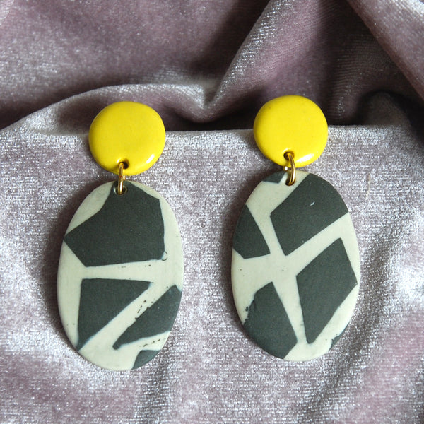 CASSIA EARRINGS // TERRAZZO