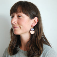 Load image into Gallery viewer, CECELIA EARRINGS // TWO TONE