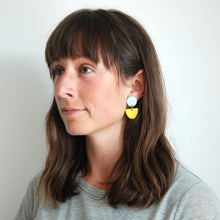 Load image into Gallery viewer, LUA EARRINGS // TWO TONE