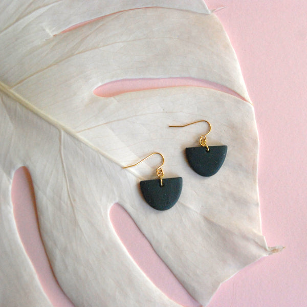 KENDRA EARRINGS // MONOCHROME MATTE